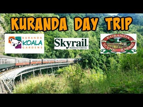 Kuranda Day Trip/Scenic Railway/Koala Gardens/Skyrail Rainforest Cableway