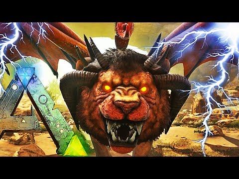 JE TUE LA MANTICORE AVEC MA WYVERN GOD ! | ARK: Scorched Earth !