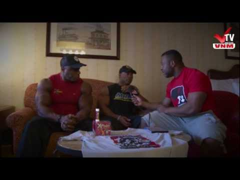 VNM-tv Toney Freeman & Ricky Jackson Post 2012 Olympia Interview