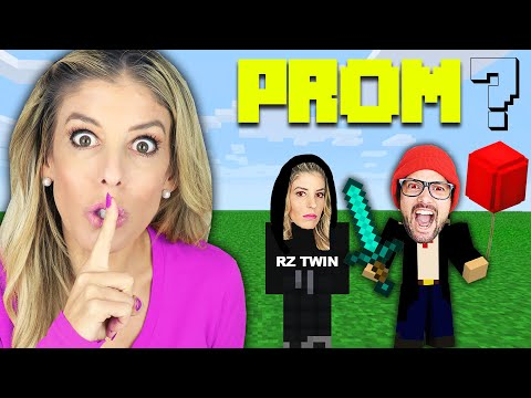 We CRASHED Daniel's Prom Proposal in Minecraft