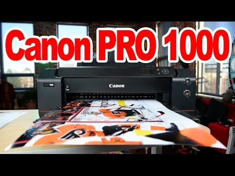 "Canon imagePROGRAF PRO-1000 ""Real World Review"": Worth $1300?"