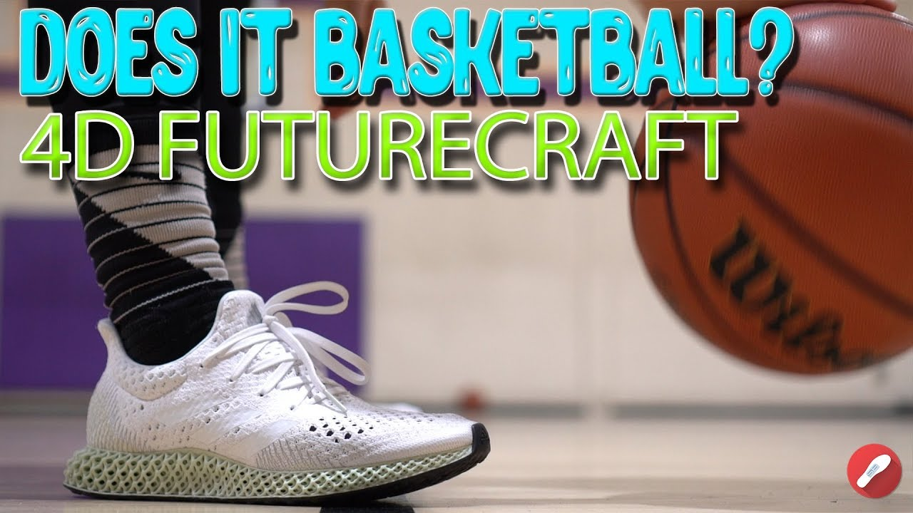 pretty nice 4b952 040df Does It Basketball Adidas 4D FutureCraft!