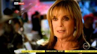 Sky News report about the death of Larry Hagman