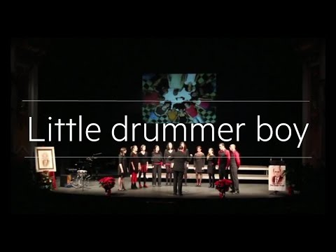 Little drummer boy (Pentatonix). Cor  sOns