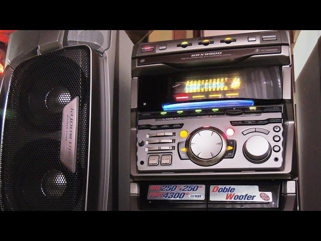 SONY GRX9900 Recién reparado (salida de audio)