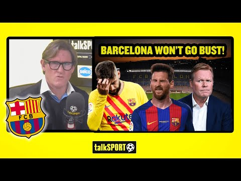 'THIS CLUB WILL NOT GO BANKRUPT!' - Simon Jordan says La Liga giants Barcelona won't go bust