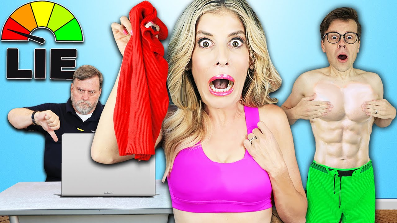 Download If You LIE You Have To REMOVE A LAYER OF CLOTHING - Lie Detector Test to reveal Truth