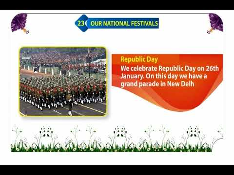 23 Our National Festivals