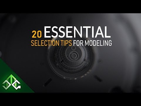 Blender Tutorial | 20 Essential Selection Tips For Modeling