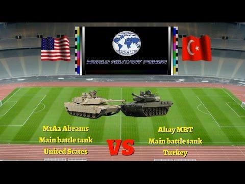 Abrams M1A2 (MBT) - USA vs Altay (MBT) - TURKEY 2016 - YouTube 83c98c5510d8
