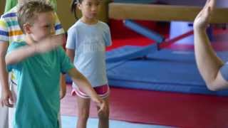 Non-contact Karate Classes for Kids 4-12 by The Little Gym. Kids le...