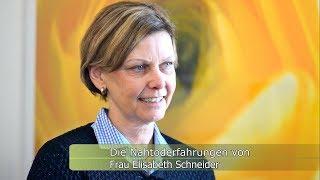 Die Nahtoderfahrungen von Frau Elisabeth Schneider (NDE with engl. subtitles)