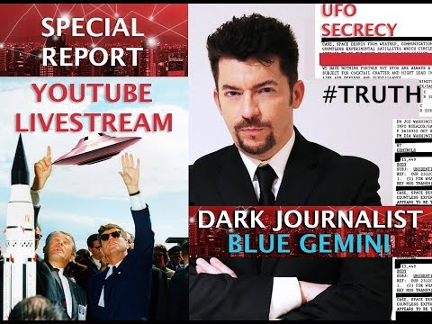 DARK JOURNALIST XSERIES III: BLUE GEMINI X PINE GAP UFO BASE  UP!