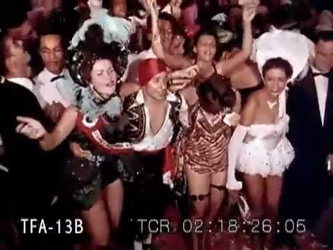 Carnival in Rio de Janeiro - 1954