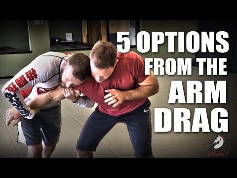 Jiu-Jitsu Techniques - 5 Arm Drag Options