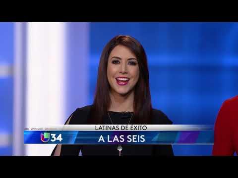"""ANDREA GONZÁLEZ E ILIA CALDERÓN PROMUEVEN """"LATINAS DE ÉXITO"""" PARA UNIVISION 34"""