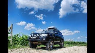 Nissan Patrol. Экспедиционная подготовка салона. Спальник органайзер.