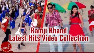 Latest Hits Video Collection By Ramji Khand 2072 || Aashish Music