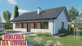Projekt domu do 100m2. Jaki jest jego koszt budowy? Systemem gospodarczym lub zleconym.