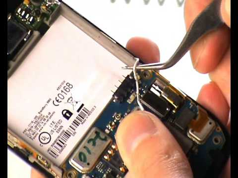 BlackBerry Curve 8900 disassembly tutorial