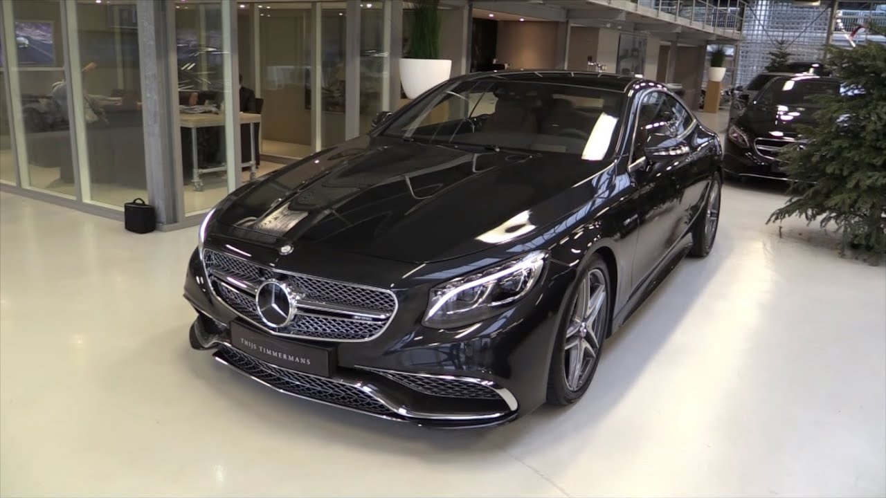 mercedes-benz s65 amg coupe (v12 biturbo) 2017 start up, exhaust