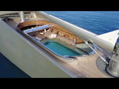 An Exclusive Look Inside 500 Million Sailing Yacht A 4k Video Youtube