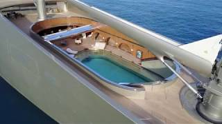 """An Exclusive Look """"Inside"""" $500 million Sailing Yacht A [4K video]"""