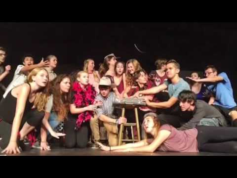 Curtains the musical trailer VMHS