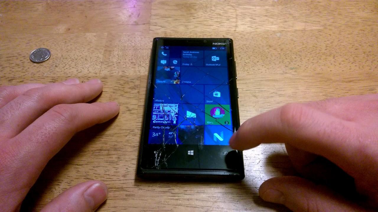Lumia 920 Running Redstone 2 Build 15014