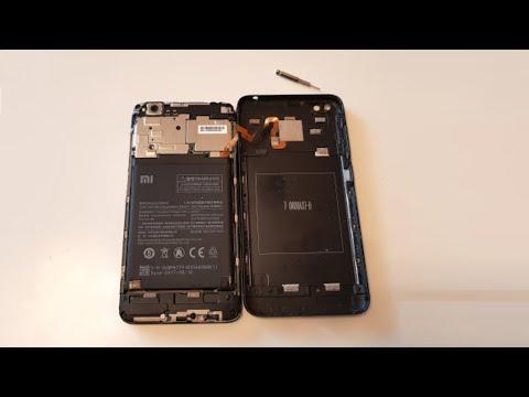 Как снять заднюю крышку или как разобрать смартфон Xiaomi