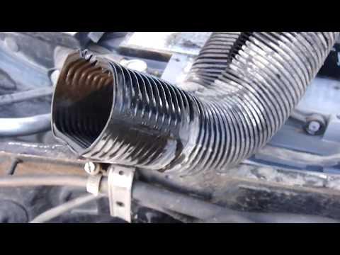 VW Passat B5 Снятие торпеды, замена радиатора печки.