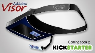 Ashkelon Visor - Low Cost Wearable Heads Up Display (HUD) coming to kickstarter! thumbnail