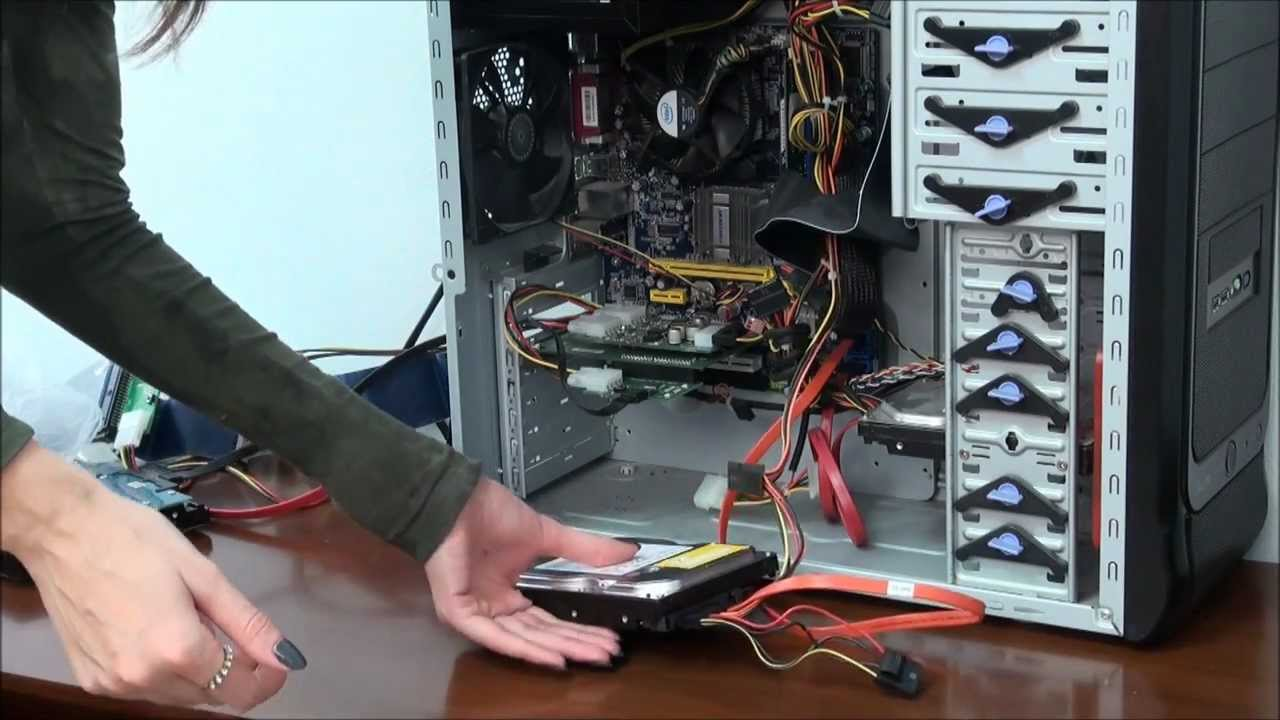 How to connect SATA