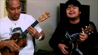 Maroon 5 - Sunday Morning (Ukulele Cover by Ben Ahn and Ukulenny) + Chords in Description