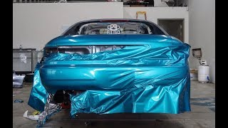 1990 MR2 GET'S A MAKEOVER!!!! (Vinyl Wrapped in 3M ATOMIC TEAL)