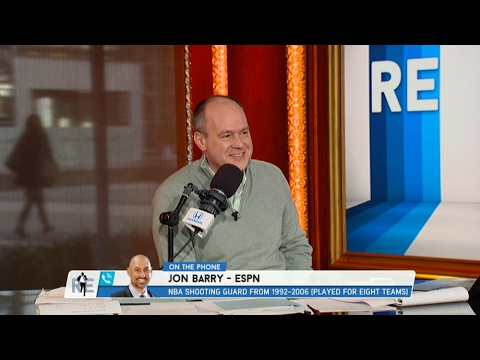 ESPN NBA Analyst Jon Barry Talks Knicks, Clippers & More - 2/9/17