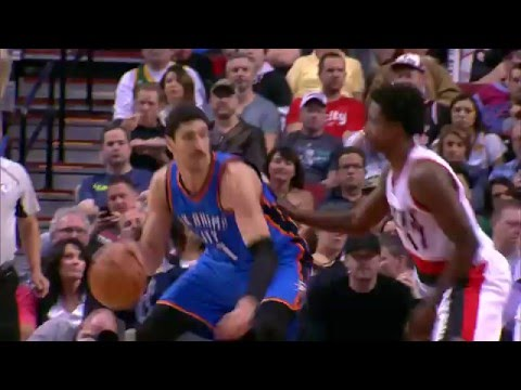 """Enes Kanter Records First 30/20 Game in Thunder History"""