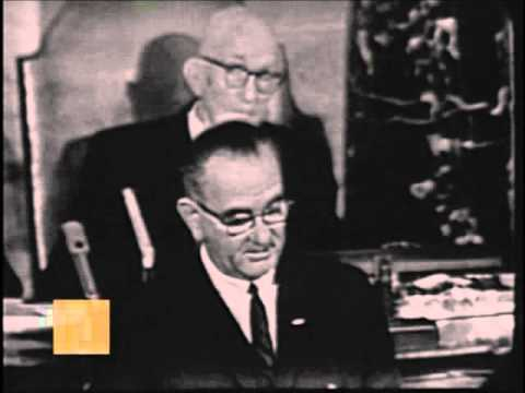 LBJ Declares War on Poverty