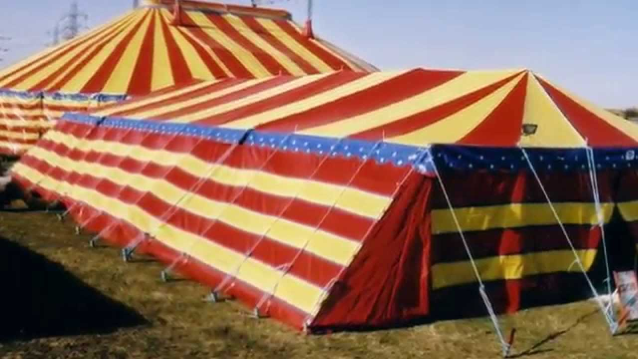 American Circus Trucks & Tent 2003 - YouTube