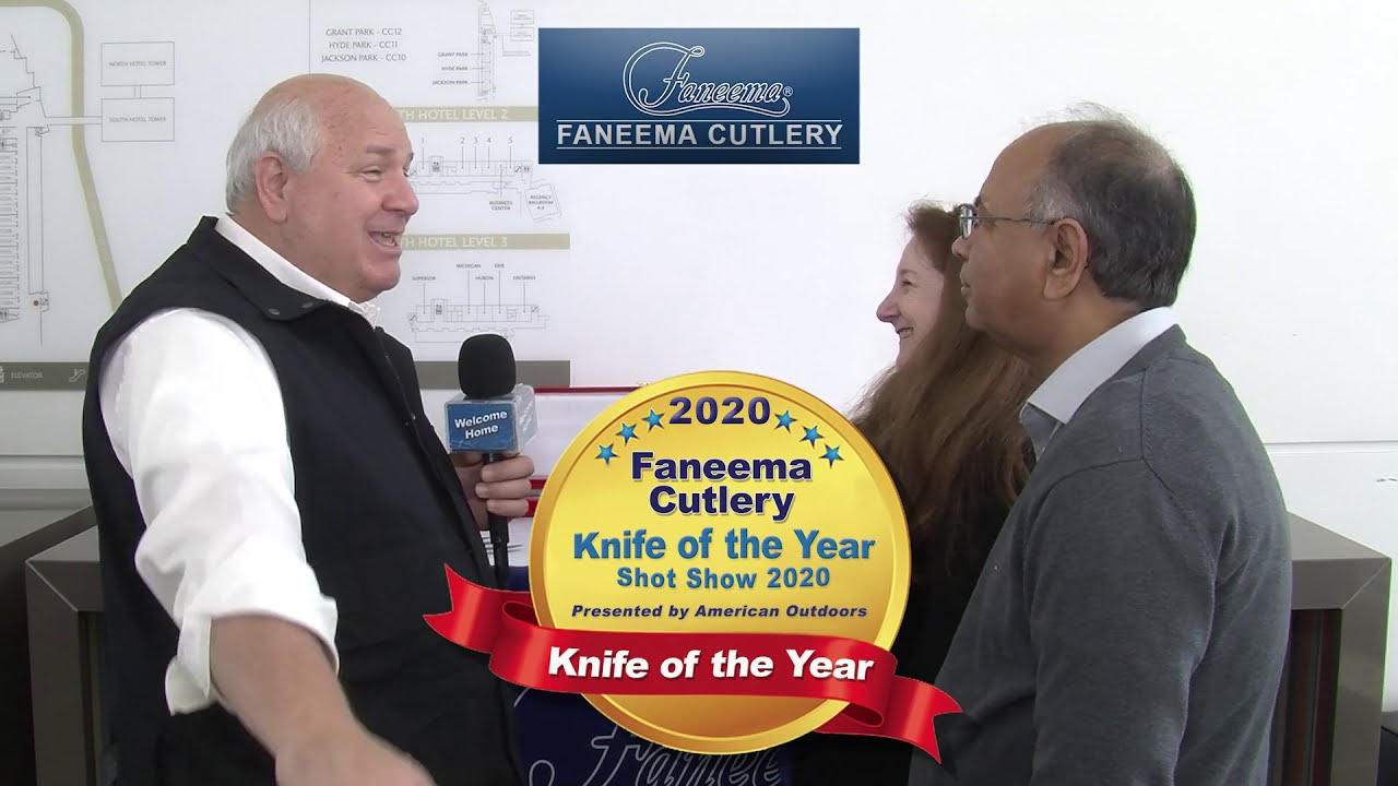 Faneema Cutlery Knife of the year - Chicago IL