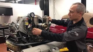 '64 356 Porsche Engine Start Up