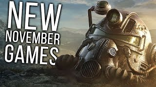 Top 10 NEW November Games of 2018