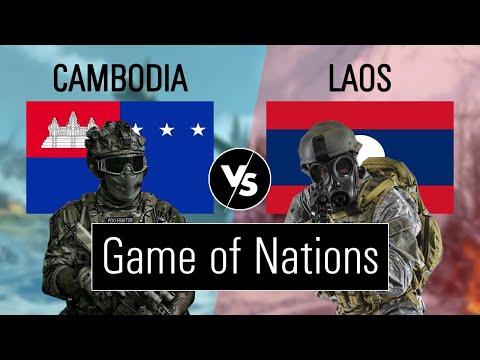Cambodia vs Laos military power comparison