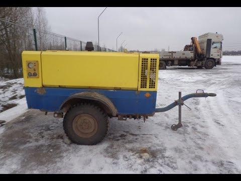 Демонстрация компрессора ПКСД-5,25 (видео № 2)