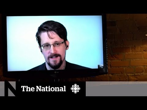 Edward Snowden On 'Snowden Angels' And His Warning For Canada