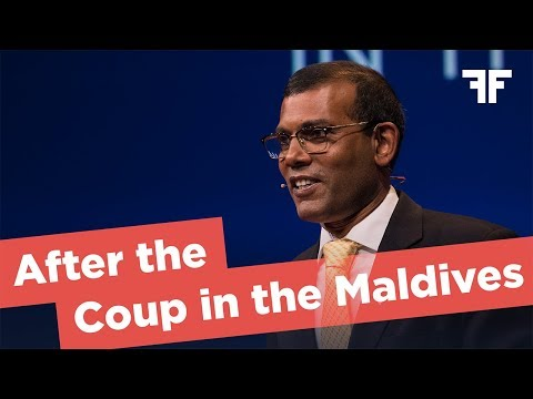 MOHAMED NASHEED | AFTER THE COUP IN THE MALDIVES | 2017