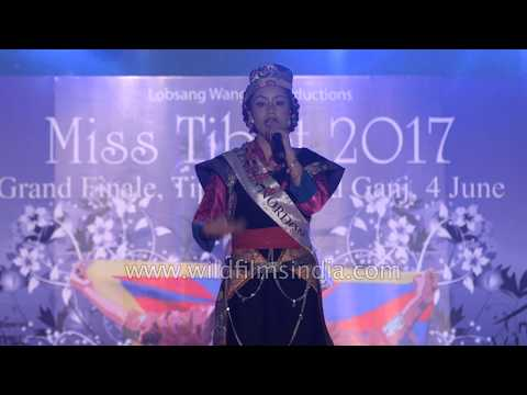 Miss Tibet 2017 Q&A : Importance of wearing makeup at beauty pageants