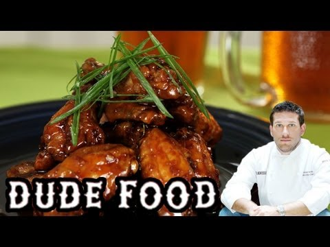 Teriyaki Hot Wings Recipe - Dude Food