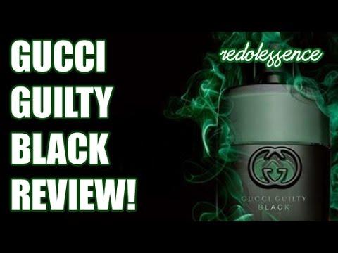 guilty black by gucci fragrance cologne review youtube