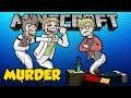 Murder! - w/ GEJMR Jawo [Minecraft Minihry]